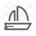 Ship Anchor Sail Icon