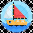 Sailing Yacht Sailing Boat Sailing Ship Icon