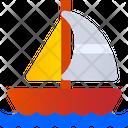 Sailing Boat Boat Ship Icon