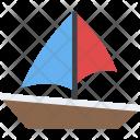 Boat Sailing Yacht Icon