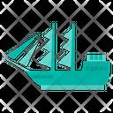 Sailing Ship Boat Ship Icon