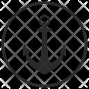Sailor Sea Anchor Icon