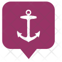 Sailor Anchor Boat Icon