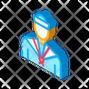 Sailor Silhouette Ship Icon