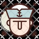 Sailor Captain Ship Icon