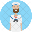 Sailor Character Profession Icon