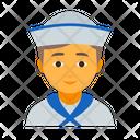 Male Marine Mariner Icon