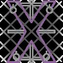 Saint Andrew Cross Icon