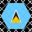 Saint Lucia National Icon