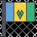 Saint Vincent Grenadines Icon