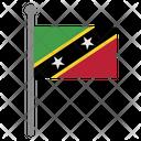 Saint Kitts Icon
