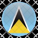 Saint Lucia South Icon