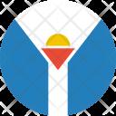 Saint martin Icon