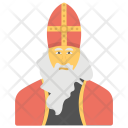 Saint Nicholas Bishop Icon