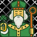 Saint Patrick St Patricks Day Celebration Icon