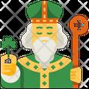 Saint Patrick Celebration Clover Icon