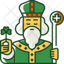 Saint Patrick Celebration Clover Icon