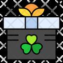 Saint Patrick Gift Gift Box Icon