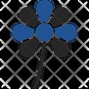 Saint Patricks Flower Saint Clover Clover Icon