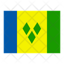 Saint Vincent And The Grenadines Flag Flags Icon
