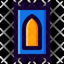 Muslim Praying Sajadah Icon
