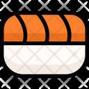 Salmon Sushi Japan Icon