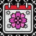 Sakura Flower Japan Icon