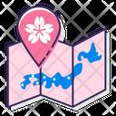 Msakura Map Sakura Map Map Icon