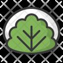 Leaf Mochi Sakuramochi Icon