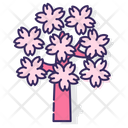 Msakura Tree Sakura Tree Tree Icon