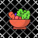 Salad Food Healthy Icon