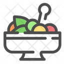 Salad Vegetable Healthy Icon