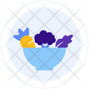 Salad Vegetables Diet Icon