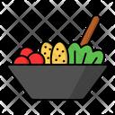 Salad Healthy Food Icon