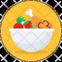 Salad Cheese Salad Fruit Salad Icon