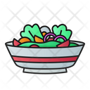 Salad Fresh Vegetable Icon