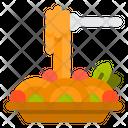 Salad Salad Bowl Healty Food Icon
