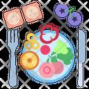 Salad Diet Food Vegetable Icon