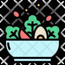 Salad Vegetables Organic Icon