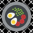 Salad Diet Healthy Icon