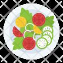 Salad Fruit Mixed Icon