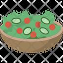 Green Salad Healthy Food Diet Food Icon
