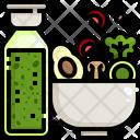 Salad Bowl Icon