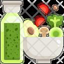 Salad Bowl Salad Food Icon