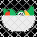 Salad Bowl Food Bowl Food Dish Icon