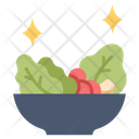 Salad in bowl Icon