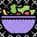 Salad Kitchen Cooking Icon