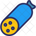 Salami Food Meat Icon