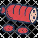 Salami Sausage Meat Icon