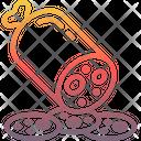 Salami Icon